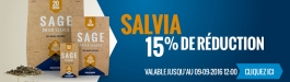 15% Réduction Salvia